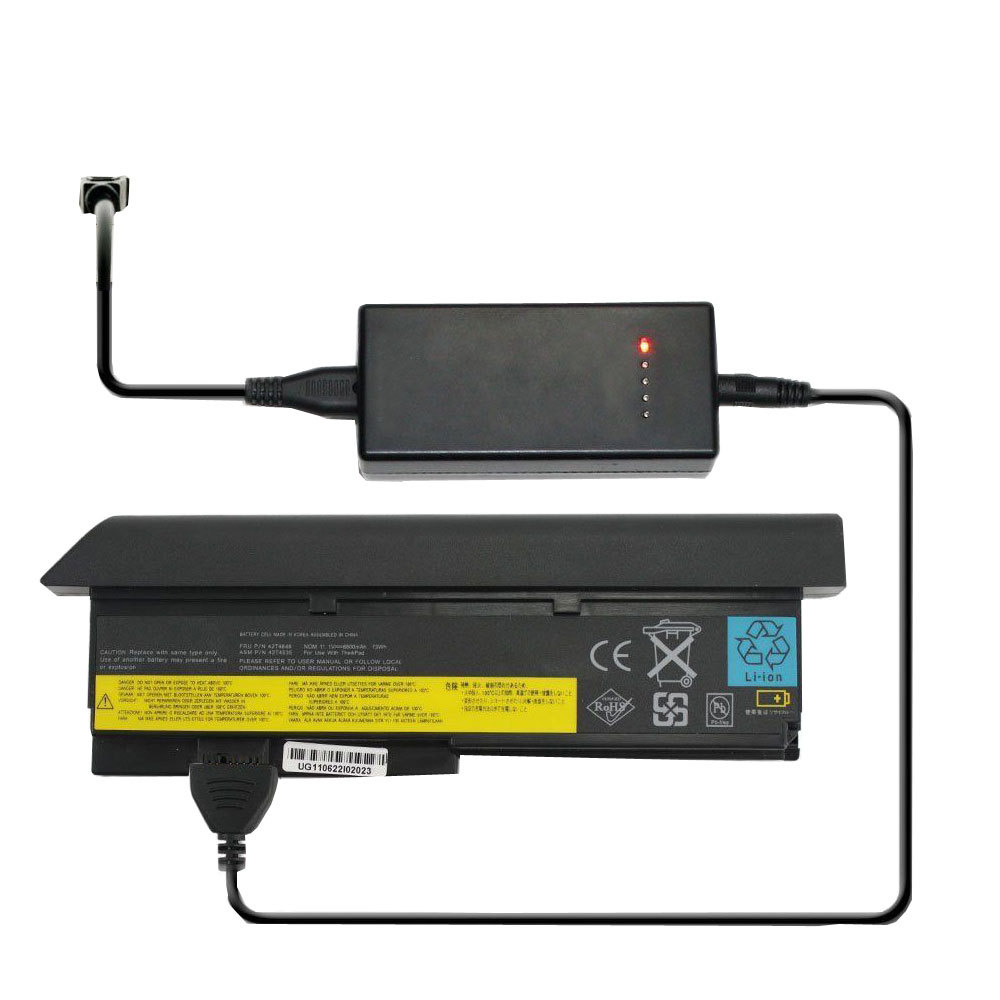External Laptop Battery Charger for Ibm Thinkpad X60S 1702 Battery - $55.02