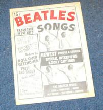 Beatles Songs #3 Charlton Magazine 1964 rare - $13.99