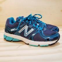 New Balance Women's 580 V4 Running Cross-Training Shoes Blue White US 7,... - $26.72