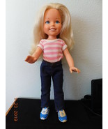 """1984 Tomy KIMBERLY JEANS DOLL 17"""" Doll Original HangTen Jeans & Shoes   - $19.31"""