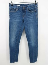 Gap Unisex Kids Blue 1969 Medium Wash Always Skinny Denim Jeans Size 28 R - $15.83