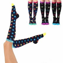 Compression Socks 20-25mmHg for Men & Women - Best Stocking 4 Pairs for ... - $22.50