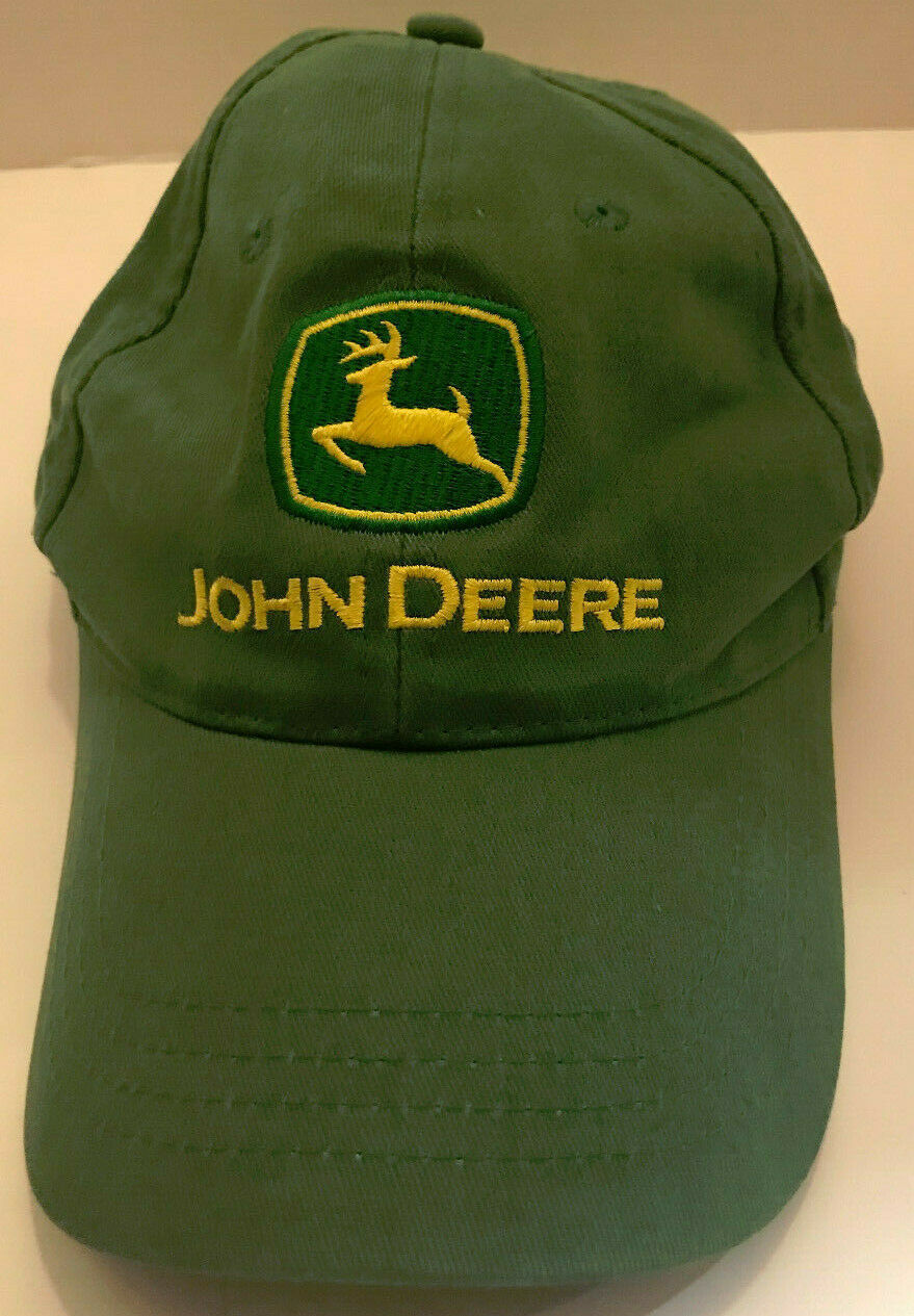 Primary image for John Deere Nothing Runs Like A Deere Green Adjustable Hat OSFM Cotton China