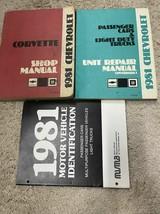 1981 Chevrolet CHEVY CORVETTE Service Repair Shop Manual Set W Unit Bk +... - $69.25
