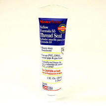 1-oz. Yellow Formula 55 Thread Seal - $10.88