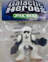 2004 Hasbro - Star Wars - Galactic Heroes - Scout Trooper - 2 inches  Mi... - $7.99