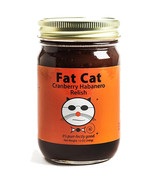 Fat Cat Cranberry Habanero Relish Seasonal Condiment - $8.99