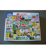 White Mountain Puzzles I Love Golf 1000 Pc Complete VGC - $12.00