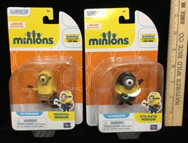 Minions Action Figures Eye Matie & Medieval Poseable Arms Collectible Lo... - $14.84