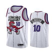 Men's Toronto Raptors DeMar DeRozan 10 White Jersey - $49.99