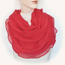 New CEJON Soft Cozy Shiny Ruched Infinity Scarf Women's Lightweight Loop... - €11,93 EUR