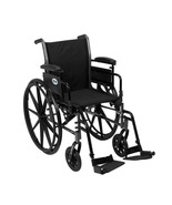 Drive Medical Cruiser III w/ Adjust Arms and Footrests 20'' - $190.50