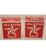 2 Box Swedish Dream Sea Aster Soap Bar Strandaster Tval Anthropologie Ka... - $18.76