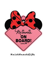 "MINNIE MOUSE ""BABY ON BOARD""  SIGN - $10.00"