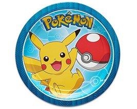American Greetings Pokemon Paper Dessert Plates for Kids (8-Count) - $2.92