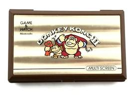 1983 Nintendo Game & Watch Donkey Kong 2 JR-55 Multi Screen **NO BATTERY COVER** - $119.95