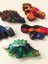 Recycled Crayon: Dinosaur (Large) - $3.00
