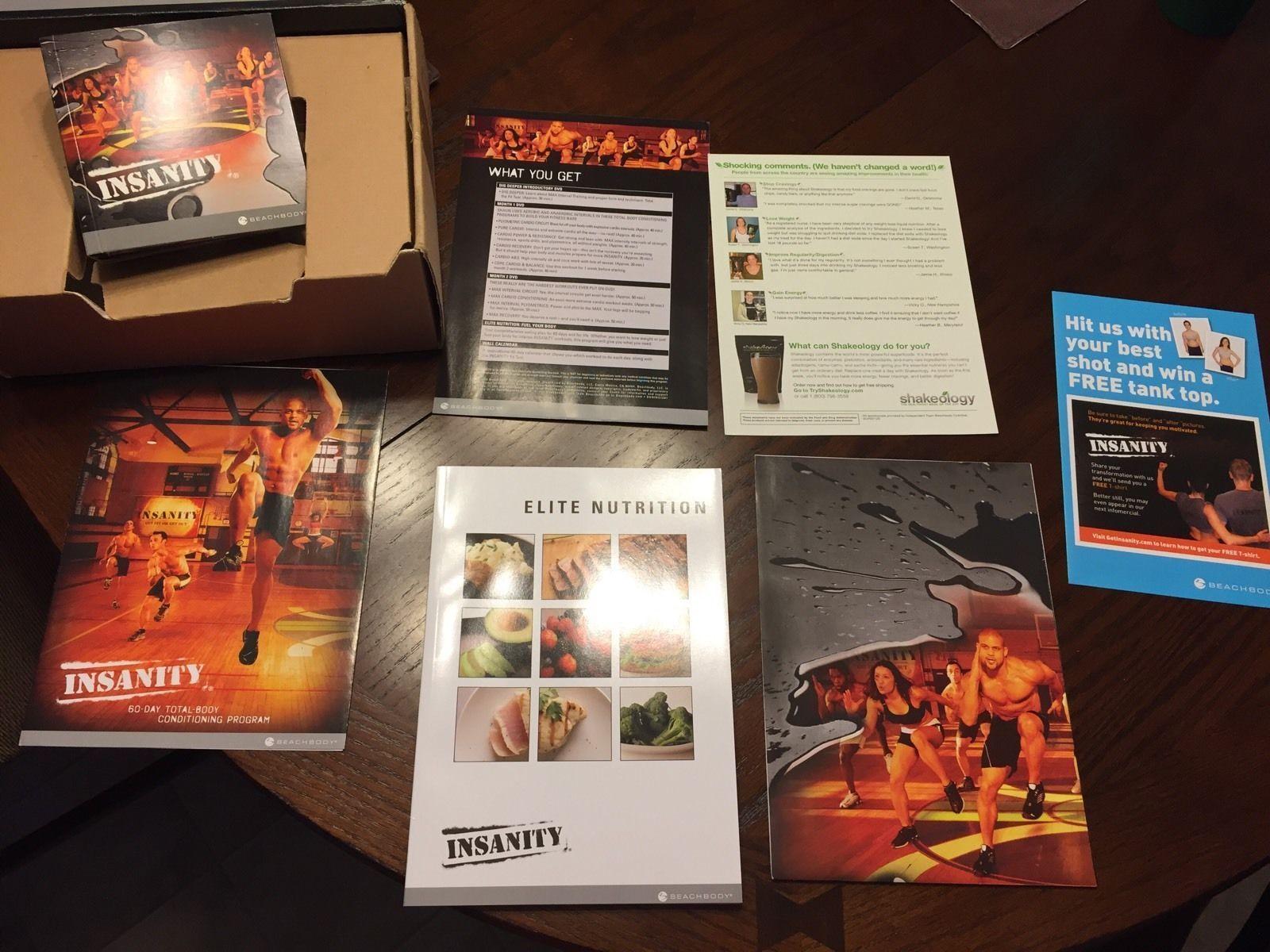Insanity 60 Day Workout 13 dvd - DVD, HD DVD & Blu-ray