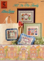 All In The Family Alma Lynne Designs Cross Stitch Leaflet Mother Sister ... - $7.95