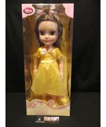 "Disney Store Authentic Toddler Doll 16"" Princess BELLE The Beauty & Beast - $60.80"