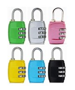 Eilin 3 Digit Combination Padlocks Combination Lock, Suitable for School... - $15.03