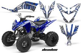 ATV Decal Graphic Kit Quad Sticker Wrap For Yamaha Raptor 250 2008-2014 DEADEN U - $168.25