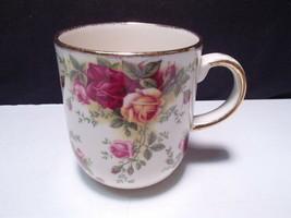 Royal Albert 1999 Fine China Old Country Roses Classic 3 Mug Gold Trim ~... - $19.99