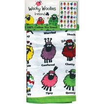 Wacky Woollies Single Tea Towel- - $25.56