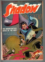 SHADOW COMICS V.3 #6-1943-octopus COVER-GOLDEN AGE-VF minus VF- - $640.20