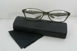 Prada Women's Gray Glasses and case VPR 02S UAM-1O1 54mm - $170.99