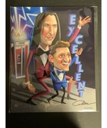Bill & Ted Bam Box Exclusive Fan Art Signed 8x10 Print by Adam McArthur ... - $12.30
