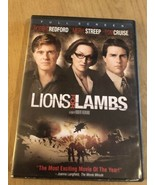 Lions for lambs Tom Cruise -(DVD) Special Buy 3 Get 4th Movie Free !! - $3.47