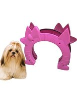 NACOCO Cat Door Interior Pet Kitty Dog Door with Knob Décor Hole (Pink) - $17.81