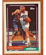 1992-93  Topps  #393 Alonzo Mourning  RC BasketBall Card - $0.98