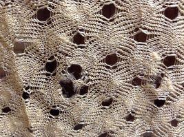 Antique Delicate Handmade Crocheted Silk Wrap image 8
