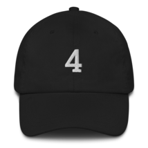 BRETT FAVRE 4 HAT / FAVRE HAT / 4 HAT / packers hat / DAD HAT image 1