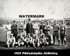 MLB 1905 Philadelphia Athletics Black & White Team Pic 8 X 10 Photo  Pic... - $5.39