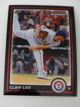 2010 Bowman Chrome #177 Cliff Lee Texas Rangers Baseball Card - $0.99