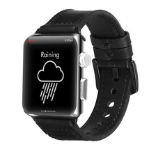 Compatible with Apple Watch Band 42mm 44mm Leather Band Replacement Compatible w - $20.42