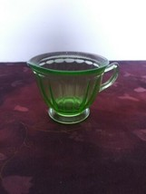 Vintage Green Fire King Creamer As Is - $14.01