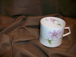 *CHIPPED* MIKASA NATURE'S GARDEN TEACUP ASTER SEPTEMBER BIRTHDAY FLOWER ... - $12.86