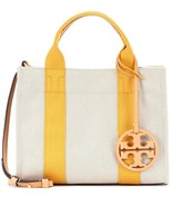 New Tory Burch Miller Canvas Mini Tote - $238.00