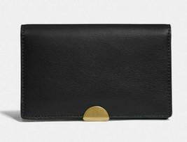 COACH Dreamer Leather Card Case Wallet ~NWT~ Black 76161 - $94.05