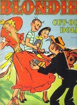 VINTAGE UNCUT 1950 BLONDIE PAPER DOLLS~#1 REPRODUCTION~MADE FROM ORIG~FA... - $18.99