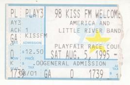 RARE America & Little River Band 8/5/95 Spokane WA Concert Ticket Stub! - $3.95