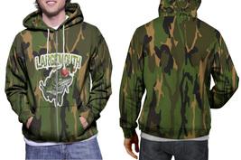 hoodie men's zipper largemouth Bass Fish Fishing Camo - $49.55+