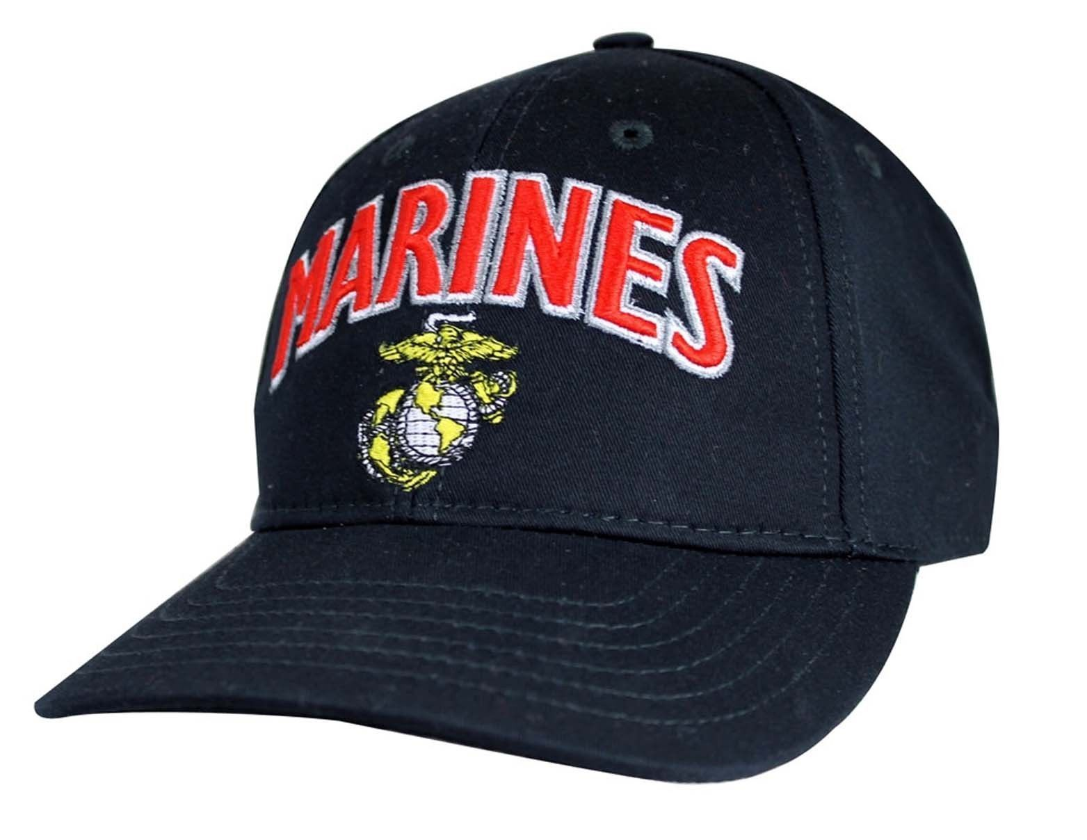 US MARINE U.S.M.C. Made In USA Officially Licensed Military Hat Baseball Cap