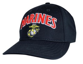 US MARINE U.S.M.C. Made In USA Officially Licensed Military Hat Baseball... - $25.99