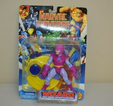 Marvel Universe Wizard Disc Firing Action Platform 1996 Fantastic Four - $14.84