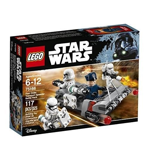 LEGO Star Wars First Order Transport Speeder Battle Pack 75166 Building Kit [New
